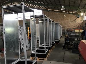 انواع ساخت بدنه تابلو برق