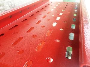 سینی کابل رنگ پودری الکترواستاتیکی کوره ای
