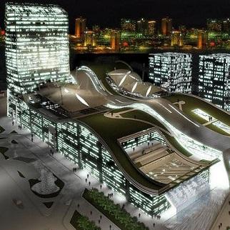 پروژه مجتمع تجاری اداری مگا پارس