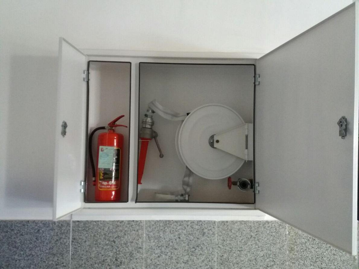 جزئیات نصب جعبه آتش نشانی مدل فایرباکس