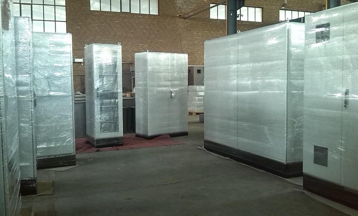 واحد بسته بندی و بارگیری تابلو برق