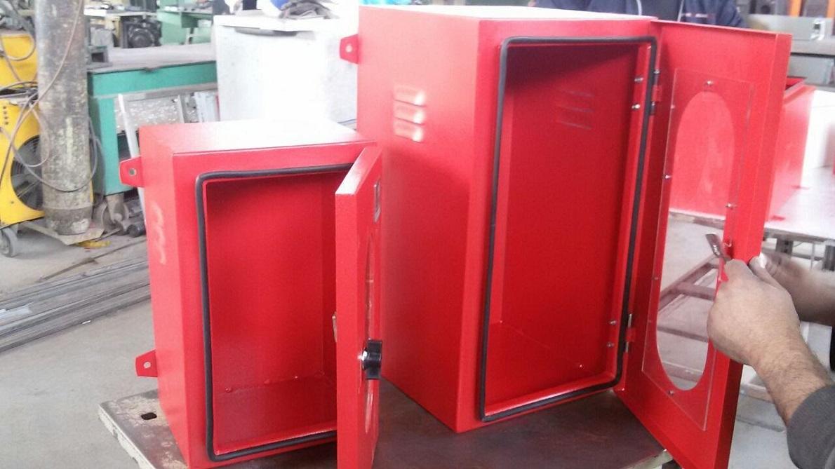 جعبه کپسولی آهن با رنگ پودری الکترواستاتیکی