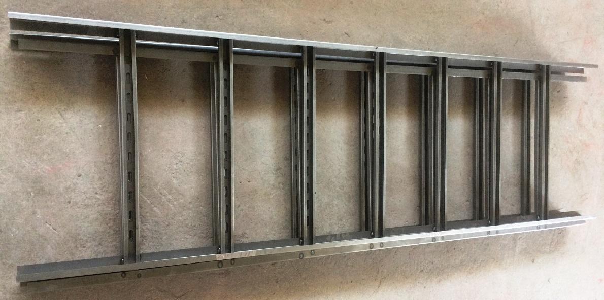 جنس نردبان کابل از نوع فلز