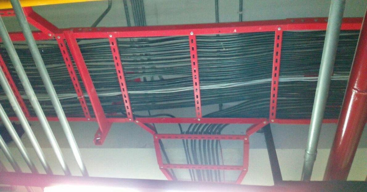 نردبان کابل پرچی پارس فرابخش انرژی