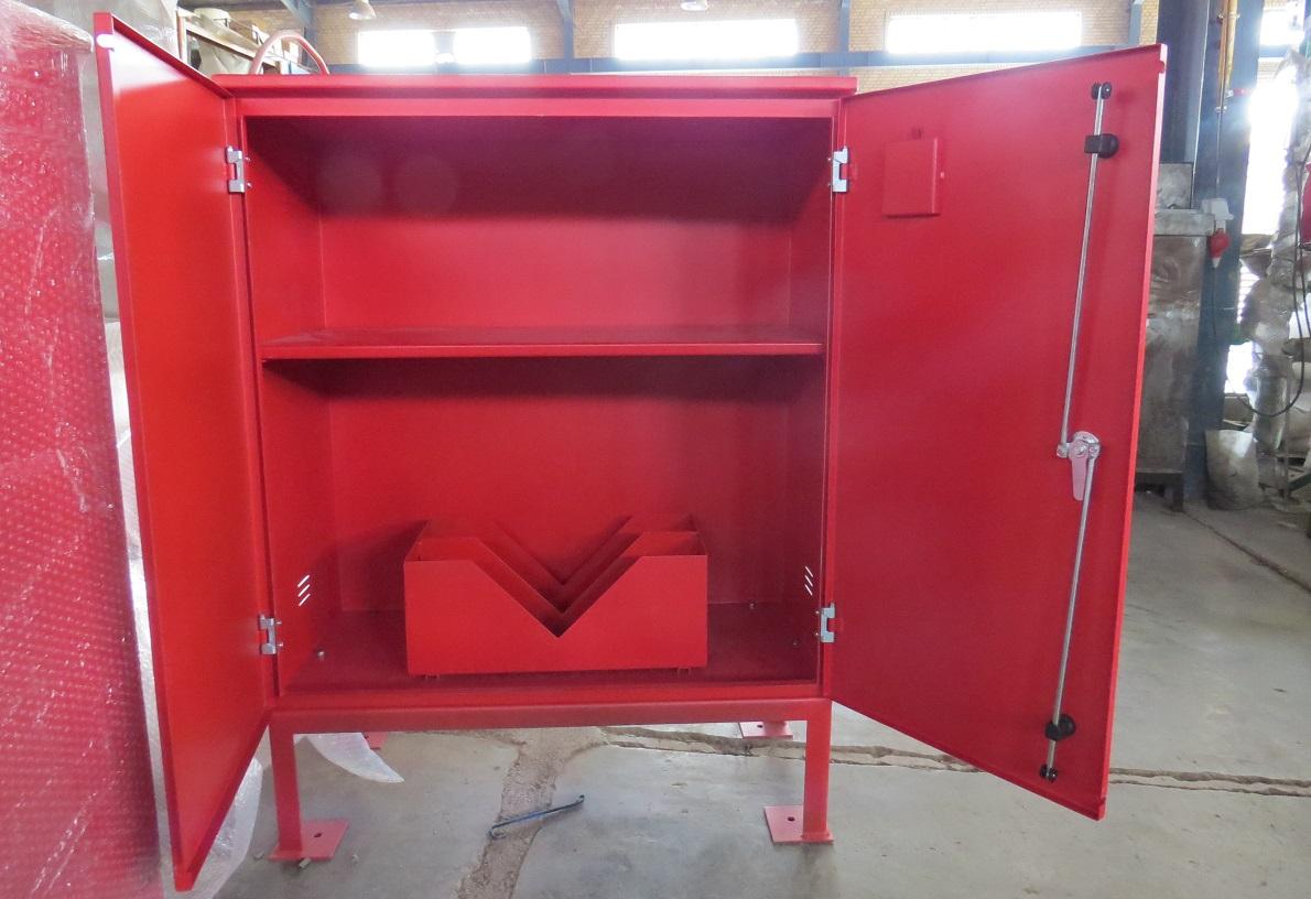 طریقه استفاده از حعبه آتش نشانی پایه دار