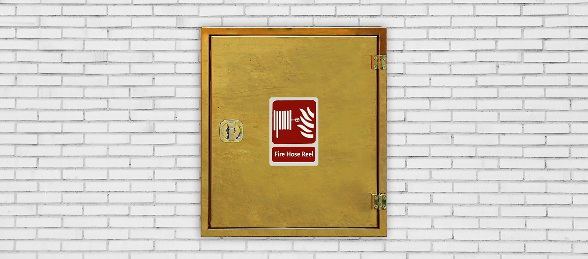 طریقه نصب جعبه آتش نشانی توکار