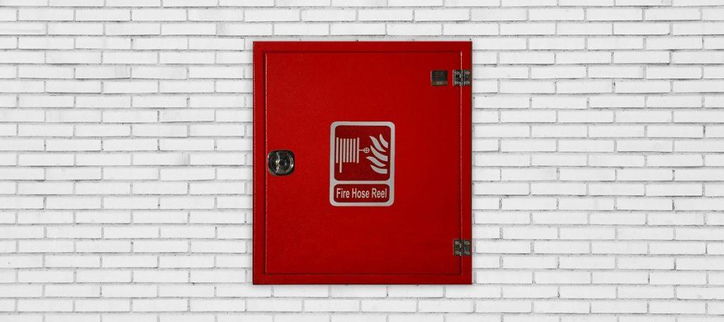 نحوه نصب جعبه آتش نشانی